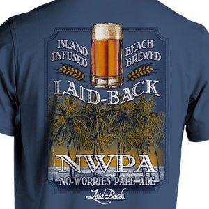 NWT Beer Beach Preshrunk Cotton T-shirt